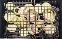 Σχάρα των λαχανικών Στοκ φωτογραφία με δικαίωμα ελεύθερης χρήσης