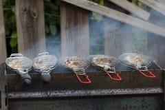 Σχάρα ψαριών Στοκ Φωτογραφία