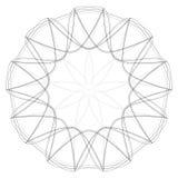 Σχέδια διακοπών των αστεριών snowflakes και των λουλουδιών για τα δώρα Στοκ εικόνες με δικαίωμα ελεύθερης χρήσης