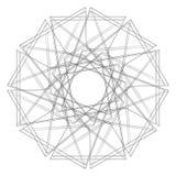 Σχέδια διακοπών των αστεριών snowflakes και των λουλουδιών για τα δώρα Στοκ φωτογραφίες με δικαίωμα ελεύθερης χρήσης