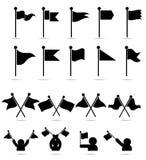 Σχέδια κυματισμού σημαιών στοκ φωτογραφία