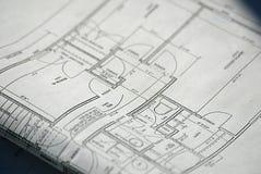 σχέδια σπιτιών Στοκ εικόνα με δικαίωμα ελεύθερης χρήσης