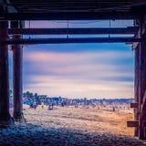 Σχέδια στην παραλία Στοκ φωτογραφία με δικαίωμα ελεύθερης χρήσης