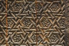 Σχέδια στις πόρτες του παλατιού στην Ινδία στοκ φωτογραφίες με δικαίωμα ελεύθερης χρήσης