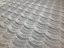 Σχέδια των πορειών ή των πατωμάτων από τη ρύθμιση των τούβλων Ή κεραμίδια πατωμάτων Στοκ εικόνα με δικαίωμα ελεύθερης χρήσης