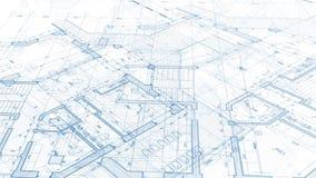 Σχέδιο αρχιτεκτονικής: σχέδιο σχεδιαγραμμάτων απεικόνιση αποθεμάτων