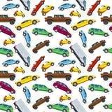 Σχέδιο αστικών μεταφορών μεταφορά στο αυτοκίνητο πόλεων Απεικόνιση αποθεμάτων