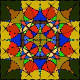 Σχέδιο για το γυαλί στο χρώμα Στοκ Εικόνα