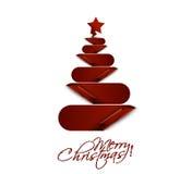 Σχέδιο δέντρων Καλών Χριστουγέννων απεικόνιση αποθεμάτων