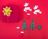 Σχέδιο διακοσμήσεων στις διακοπές Χριστουγέννων στοκ φωτογραφία με δικαίωμα ελεύθερης χρήσης