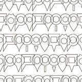 Σχέδιο εικονιδίων καρφιτσών χαρτών Στοκ φωτογραφία με δικαίωμα ελεύθερης χρήσης