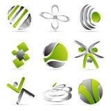 Σχέδιο επιχειρησιακών εικονιδίων απεικόνιση αποθεμάτων