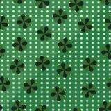 Σχέδιο ημέρας του ST Patricks τριφυλλιού seamless Στοκ Εικόνα