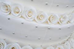 Σχέδιο κέικ στο λευκό Στοκ Εικόνες