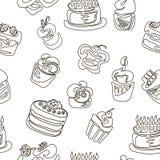 Σχέδιο κέικ Στοκ φωτογραφία με δικαίωμα ελεύθερης χρήσης
