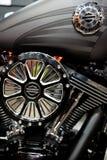 Σχέδιο και μορφή της μηχανής μηχανών του Harley Davidson στοκ εικόνα με δικαίωμα ελεύθερης χρήσης
