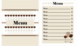 Σχέδιο καταλόγων επιλογής εστιατορίων Στοκ Φωτογραφία