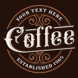 Σχέδιο λογότυπων Coffe Στοκ Εικόνες