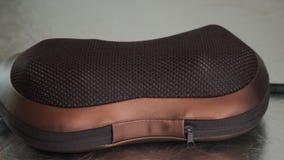 Σχέδιο μαξιλαριών μασάζ δέρματος απόθεμα βίντεο