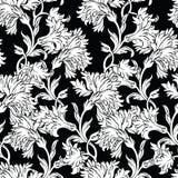Σχέδιο με τα γαρίφαλα λουλουδιών απεικόνιση αποθεμάτων