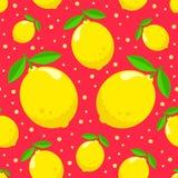 Σχέδιο με τα λεμόνια Στοκ Εικόνα