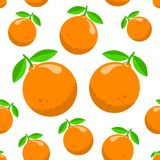 Σχέδιο με τα πορτοκάλια Στοκ φωτογραφία με δικαίωμα ελεύθερης χρήσης
