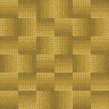 Σχέδιο με το χρυσό μωσαϊκό Στοκ Φωτογραφία