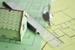 Σχέδιο Σχέδιο οικοδόμησης Στοκ εικόνες με δικαίωμα ελεύθερης χρήσης