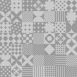 Σχέδιο προσθηκών άνευ ραφής Διακόσμηση παπλωμάτων Γεμισμένο γενικό κείμενο Στοκ φωτογραφίες με δικαίωμα ελεύθερης χρήσης