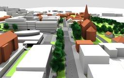 Σχέδιο πόλεων Στοκ εικόνες με δικαίωμα ελεύθερης χρήσης