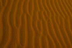 Σχέδιο στην άμμο στην έρημο Σαχάρας, η παγκόσμια ` s μεγαλύτερη έρημος Στοκ φωτογραφία με δικαίωμα ελεύθερης χρήσης
