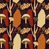 Σχέδιο σχεδίων φθινοπώρου επίσης corel σύρετε το διάνυσμα απεικόνισης Διανυσματική απεικόνιση