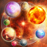 σχέδιο σύνθεσης μυστήρι&omicron στοκ εικόνα με δικαίωμα ελεύθερης χρήσης