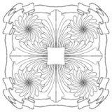 σχέδιο σύνθεσης floral Στοκ εικόνα με δικαίωμα ελεύθερης χρήσης