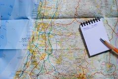 Σχέδιο ταξιδιού Στοκ φωτογραφία με δικαίωμα ελεύθερης χρήσης