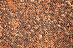 Σχέδιο της στέγης κεραμιδιών Στοκ φωτογραφία με δικαίωμα ελεύθερης χρήσης