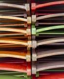 Σχέδιο των χρωματισμένων καρεκλών Στοκ φωτογραφία με δικαίωμα ελεύθερης χρήσης