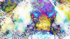 Σχέδιο υποβάθρου με fractal τις δομές αφηρημένη ανασκόπηση Στοκ φωτογραφία με δικαίωμα ελεύθερης χρήσης