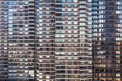 Σχέδιο υποβάθρου πολυκατοικίας των παραθύρων γυαλιού στην πόλη της Νέας Υόρκης Στοκ φωτογραφία με δικαίωμα ελεύθερης χρήσης