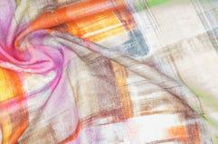 Σχέδιο υποβάθρου σύστασης Λεπτό ύφασμα μεταξιού, αφηρημένο σχέδιο ο Στοκ φωτογραφίες με δικαίωμα ελεύθερης χρήσης