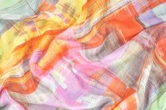 Σχέδιο υποβάθρου σύστασης Λεπτό ύφασμα μεταξιού, αφηρημένο σχέδιο ο Στοκ Φωτογραφίες