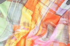 Σχέδιο υποβάθρου σύστασης Λεπτό ύφασμα μεταξιού, αφηρημένο σχέδιο ο Στοκ Εικόνα