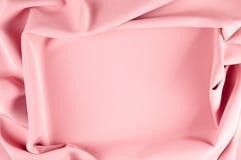 Σχέδιο υποβάθρου σύστασης ρόδινο μετάξι υφάσματος Εκλεκτής ποιότητας γαλλικά SEM Στοκ εικόνες με δικαίωμα ελεύθερης χρήσης