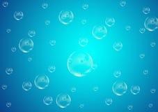 Σχέδιο υποβάθρου Burbles για τις ταπετσαρίες στοκ εικόνα με δικαίωμα ελεύθερης χρήσης