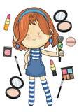 Σχέδιο χαρακτήρα ο χαριτωμένος, φωτεινός και επινοητικός στοκ εικόνα με δικαίωμα ελεύθερης χρήσης