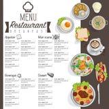 Σχέδιο χεριών σχεδίου προτύπων εστιατορίων τροφίμων επιλογών γραφικό Στοκ εικόνες με δικαίωμα ελεύθερης χρήσης