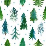 Σχέδιο χριστουγεννιάτικων δέντρων Στοκ φωτογραφία με δικαίωμα ελεύθερης χρήσης