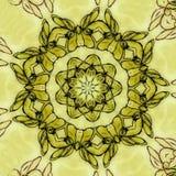 Σχέδιο boho Grunge Στοκ Εικόνα