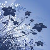 σχέδιο floral Απεικόνιση αποθεμάτων
