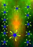 σχέδιο floral Στοκ Εικόνες